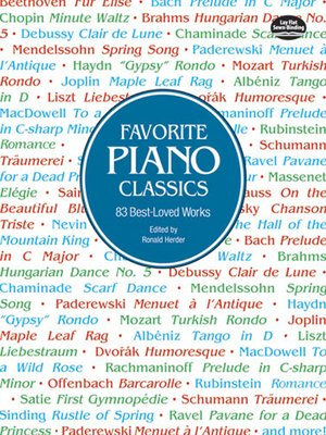 cover image of Favorite Piano Classics