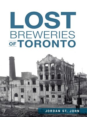 cover image of Lost Breweries of Toronto