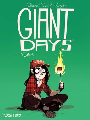 cover image of Giant Days (2015), Issue 12