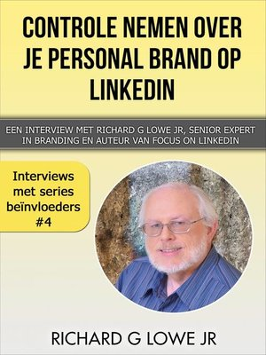 cover image of Controle nemen over je Personal Brand op LinkedIn