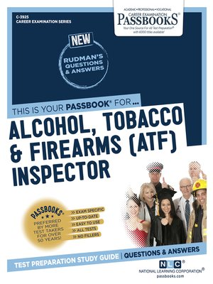 cover image of Alcohol, Tobacco & Firearms (ATF) Inspector