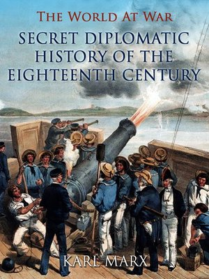 cover image of Secret Diplomatic History of the Eighteenth Century