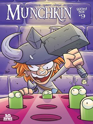 cover image of Munchkin (2015), Issue 9