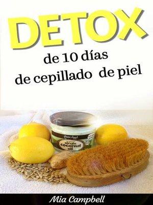 cover image of Detox de 10 días de cepillado de piel