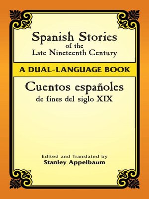 cover image of Spanish Stories of the Late Nineteenth Century