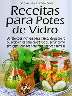 cover image of Receitas para Potes de Vidro