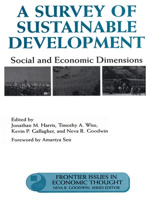 cover image of A Survey of Sustainable Development