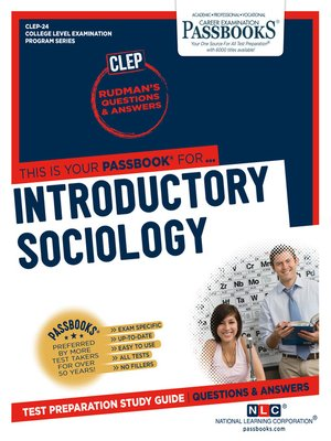 cover image of INTRODUCTORY SOCIOLOGY