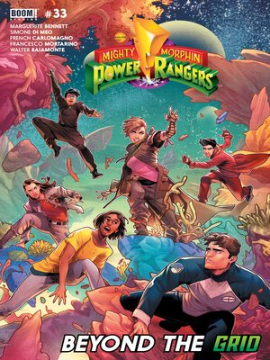 cover image of Mighty Morphin Power Rangers, Issue 33