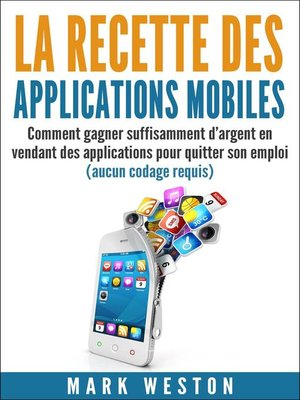 cover image of La recette des applications mobiles