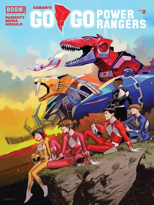 cover image of Saban's Go Go Power Rangers, Issue 2