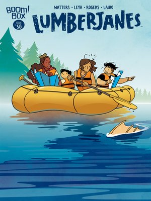 cover image of Lumberjanes, Issue 58