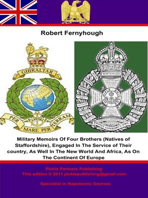 cover image of Military Memoirs of Four Brothers (Natives of Staffordshire)