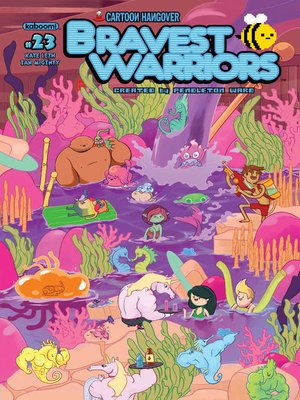 cover image of Bravest Warriors #23