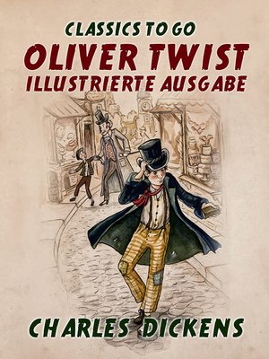 cover image of Oliver Twist  Illustrierte Ausgabe