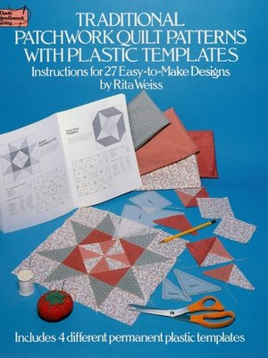 Traditional Patchwork Quilt Patterns With Plastic Templates By Rita