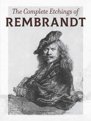 cover image of The Complete Etchings of Rembrandt