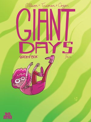 cover image of Giant Days (2015), Issue 4