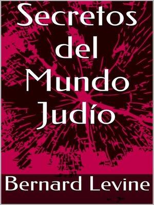 cover image of Secretos del Mundo Judío