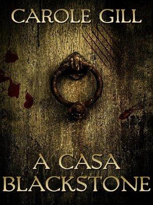 cover image of A Casa Blackstone