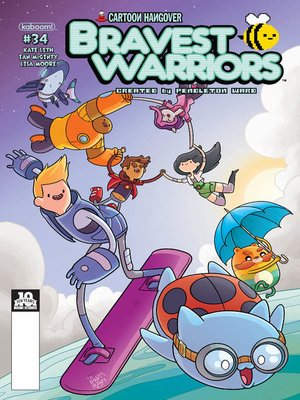 cover image of Bravest Warriors (2012), Issue 34