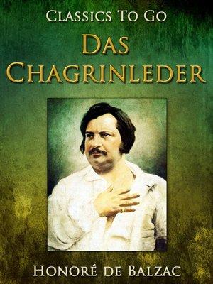 cover image of Das Chagrinleder