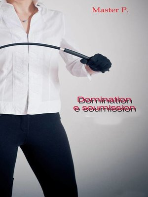 cover image of domination e soumission