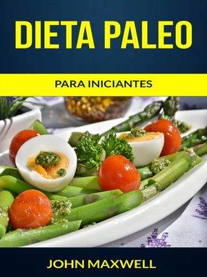 cover image of Dieta Paleo para iniciantes