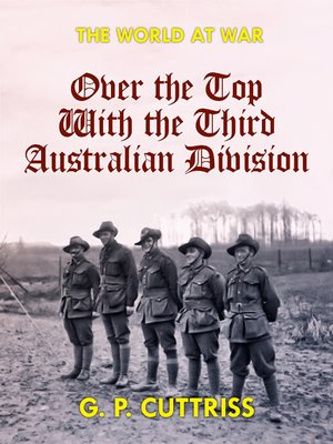 cover image of Over the Top With the Third Australian Division