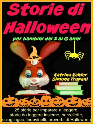 cover image of Storie Di Halloween