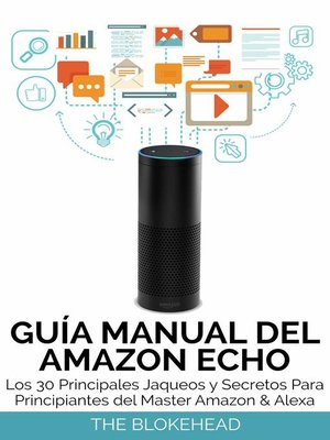 cover image of Guía Manual del Amazon Echo