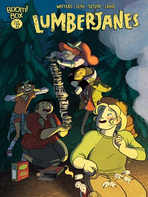 cover image of Lumberjanes #27