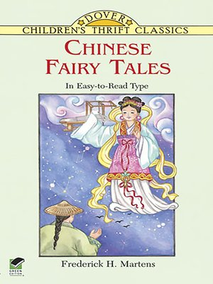 cover image of Chinese Fairy Tales