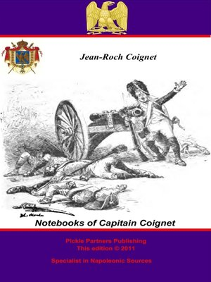 cover image of The Notebooks of Capitain Coignet