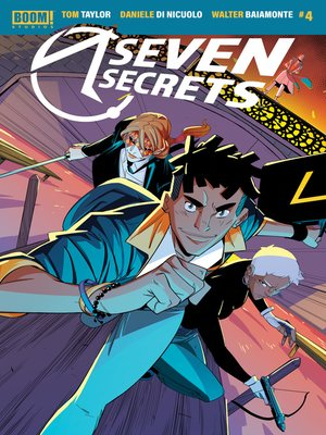 cover image of Seven Secrets, Issue 4