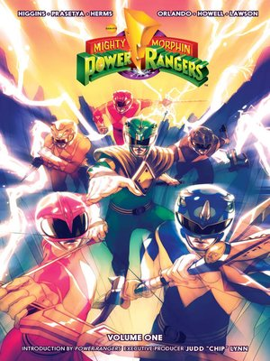 cover image of Mighty Morphin Power Rangers Volume 1
