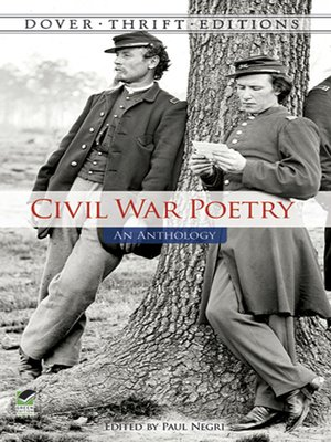 cover image of Civil War Poetry