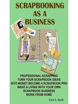 cover image of Scrapbooking As A Business