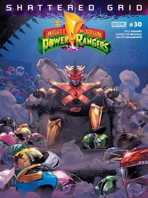 cover image of Mighty Morphin Power Rangers, Issue 30