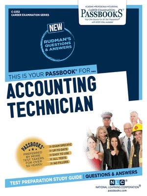 cover image of Accounting Technician