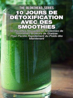 cover image of 10 jours de détoxification avec des smoothies verts