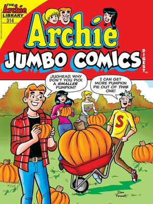 cover image of Archie Double Digest #314