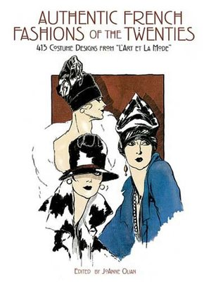 cover image of Authentic French Fashions of the Twenties