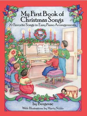 cover image of A First Book of Christmas Songs
