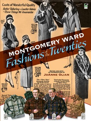 cover image of Montgomery Ward Fashions of the Twenties