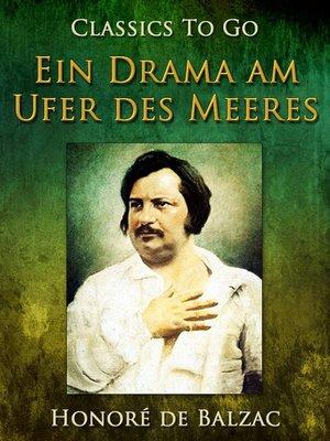 cover image of Ein Drama am Ufer des Meeres