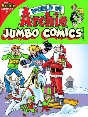 cover image of World of Archie Double Digest #104