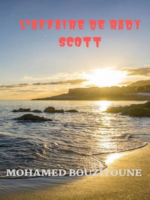 cover image of L'affaire de Rady Scott