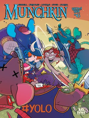 cover image of Munchkin (2015), Issue 6