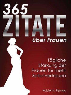 cover image of 365 Zitate über Frauen